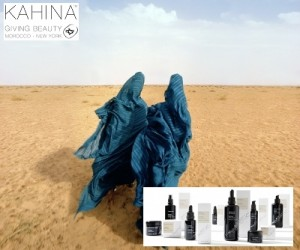 Kahina hudvård med arganolja