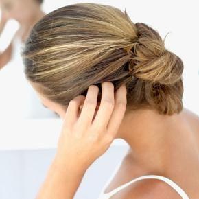 Kliande hårbotten